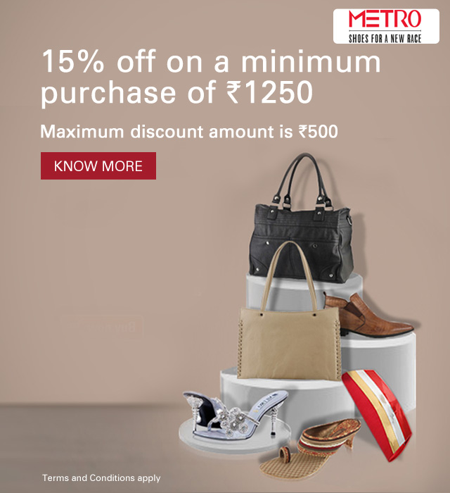 Metro Shoes Offer