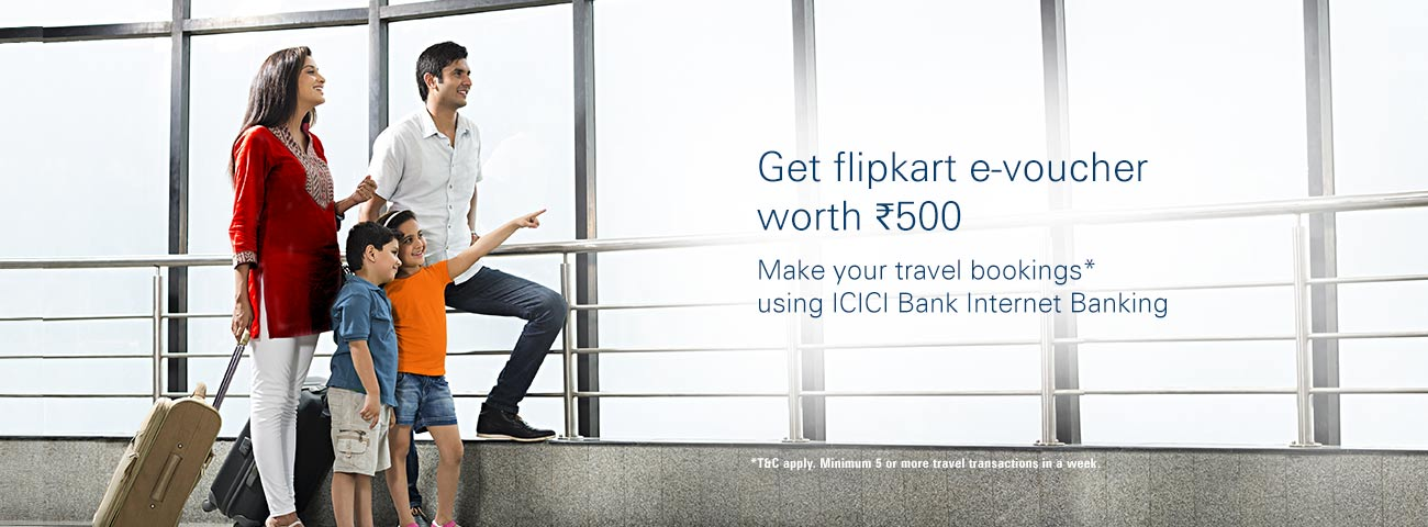 Flipkart Travel Offer