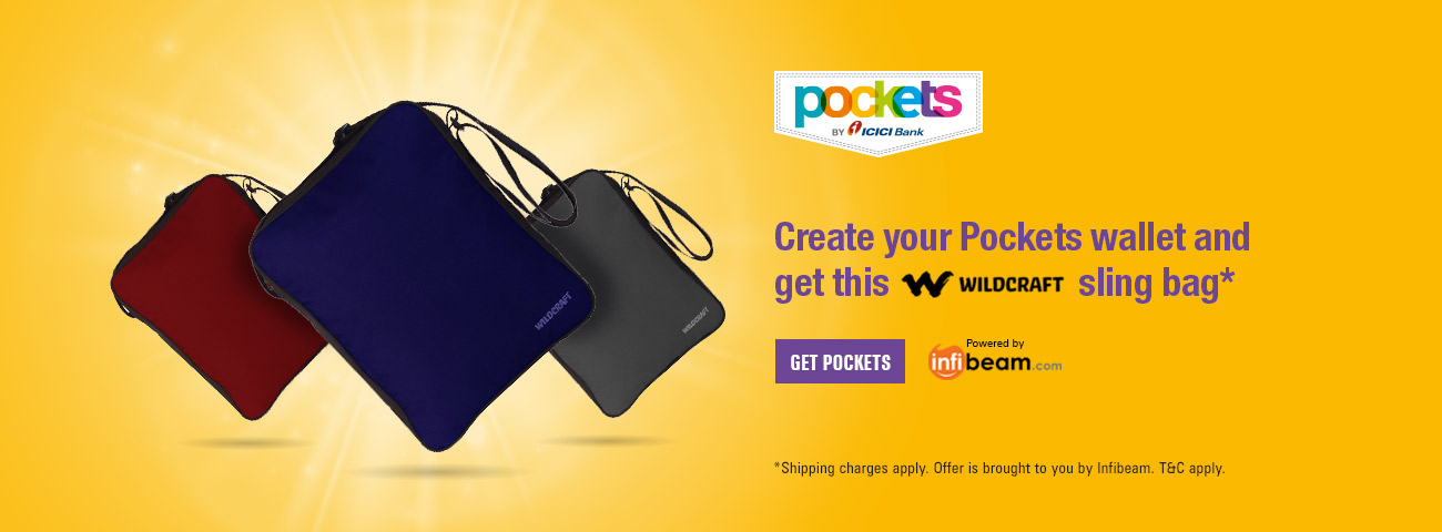 Pockets Wildcraft Offer