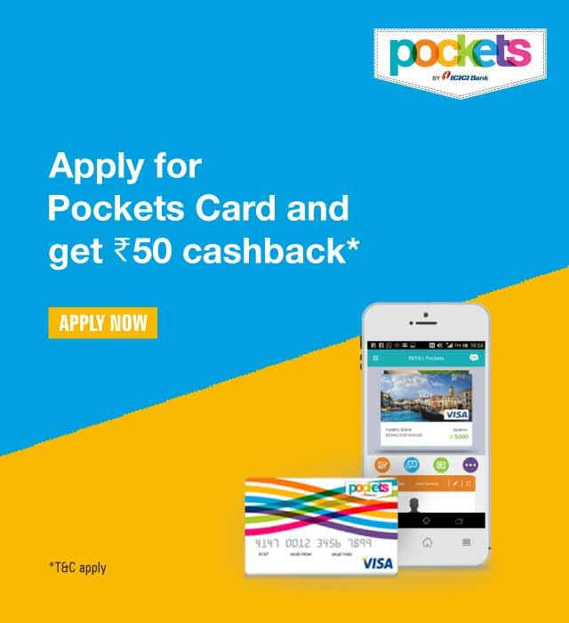 cards and pockets promo
