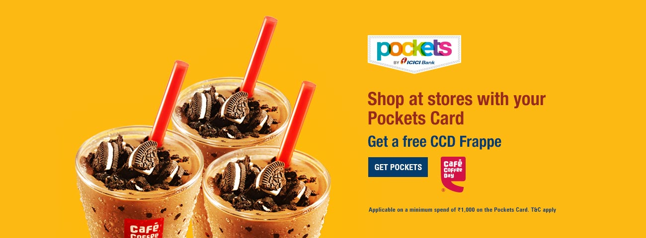 Pockets Card CCD Offer