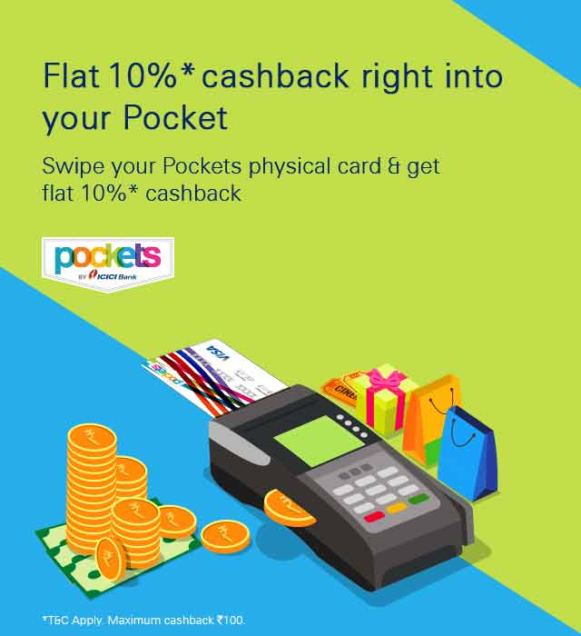 pockets festive offer