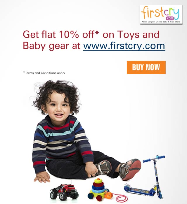 FirstCry Offer 10% Off