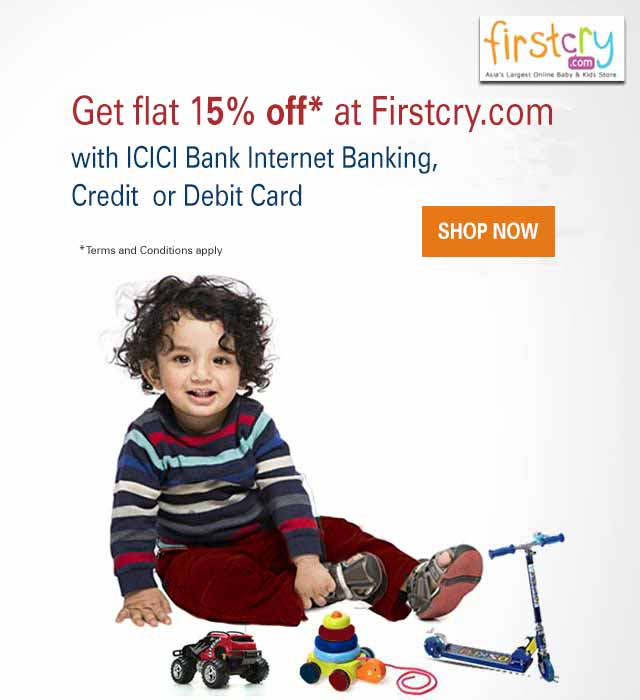 FirstCry Offer 15% Off