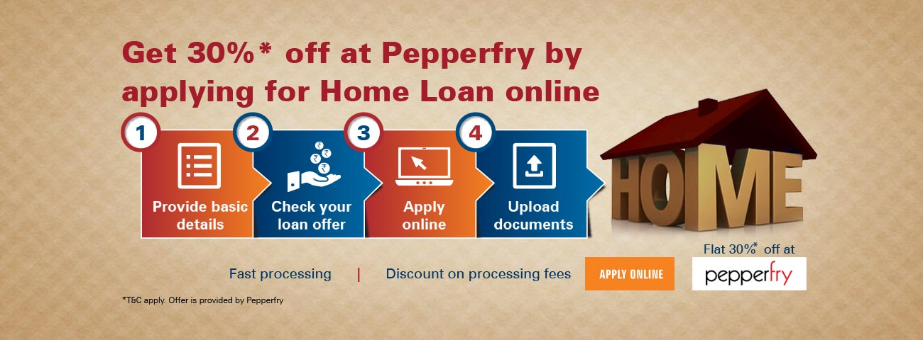 Pepperfry Home Loan Offer