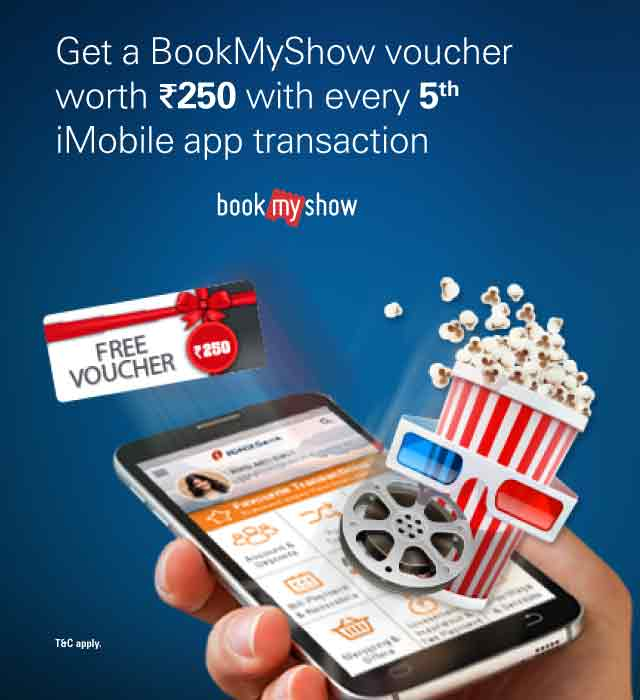 BookMyShow offer - Get Free Voucher Rs.250