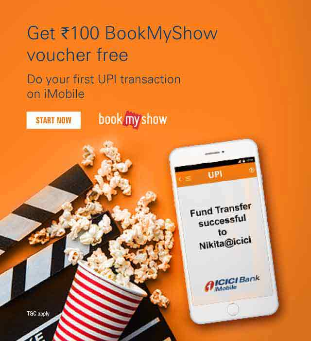 BookMyShow Rs.100 Discount Offer