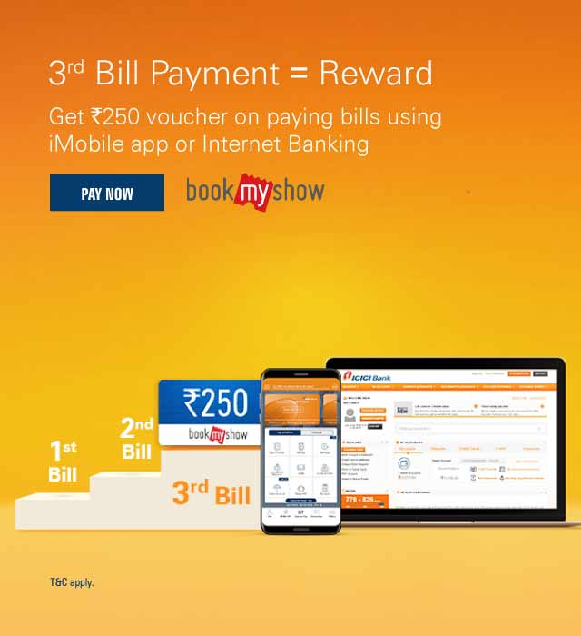 imobile bill payment offer