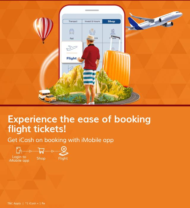 imobile Ticket Bokking Offer