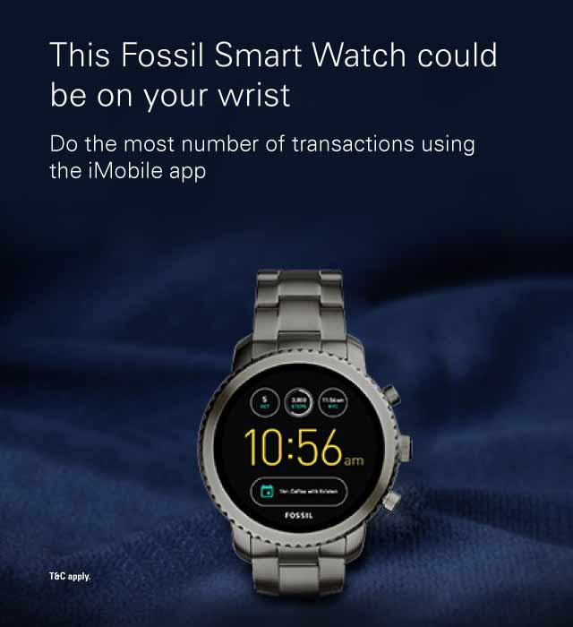 imobile smartwatch offer