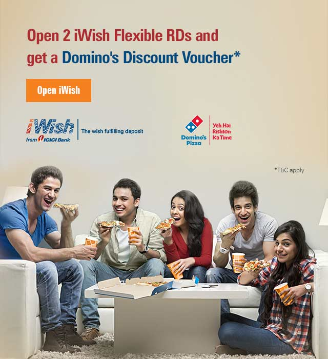 iWish Domino's offer