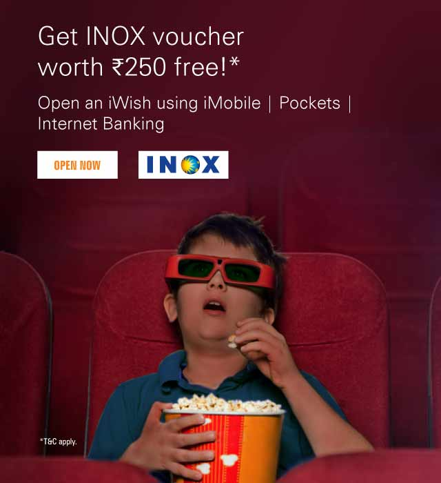 iWish INOX Voucher Offer