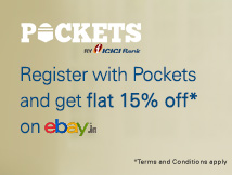 eBay Pockets Offer