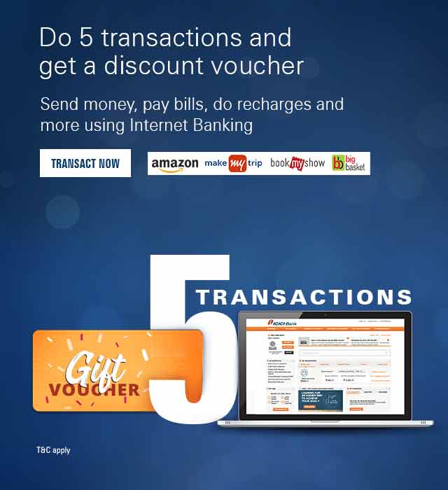 Internet Banking Services - ICICI Bank