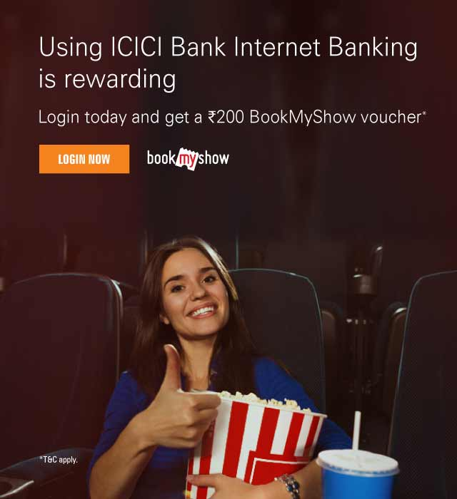 Get free Rs.200 BookMyShow Gift Card