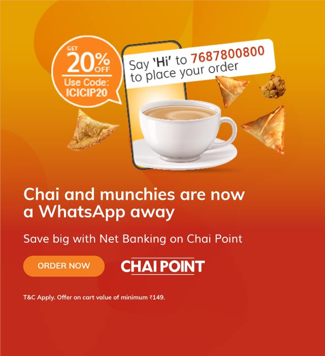 Chaipoint Offer