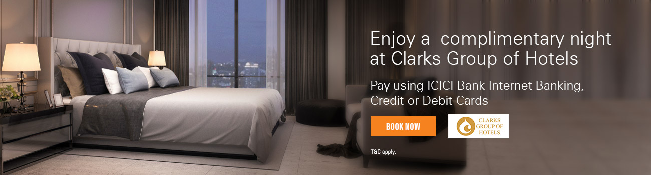 Clarks Group of Hotels Offer