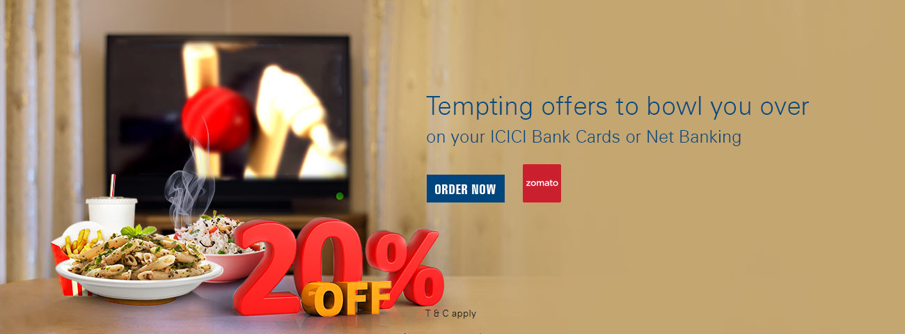 Zomato offers coupons promo code 20 off icici bank zomato discount offer stopboris Image collections
