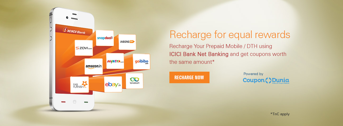 Equal Discount  Recharge Offer
