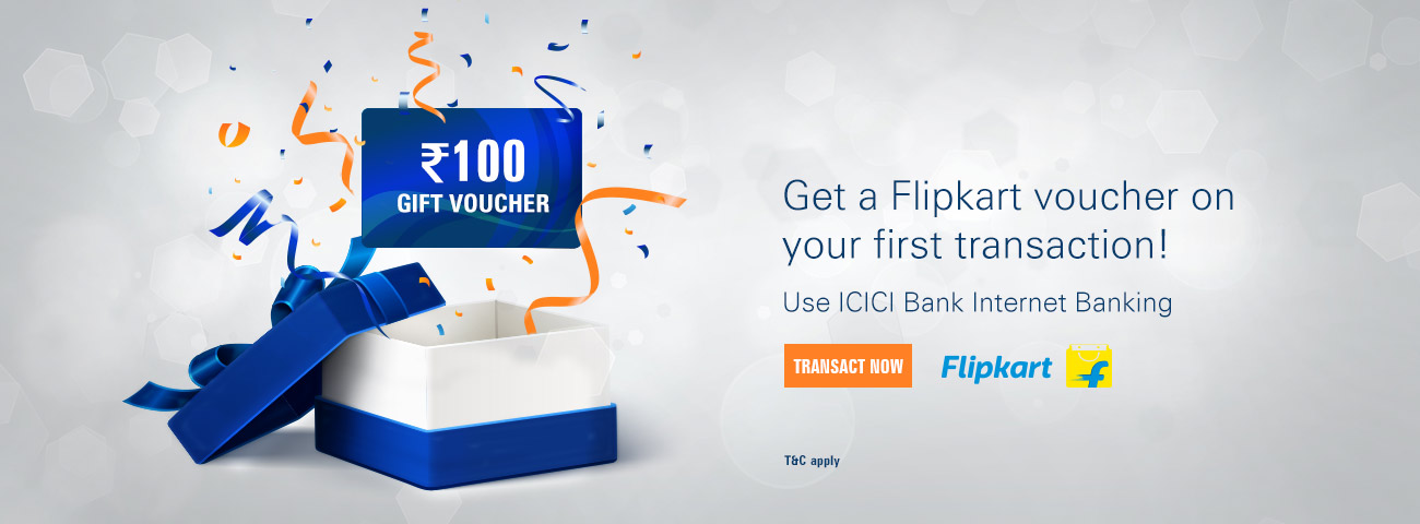 Icici bank online shopping offers