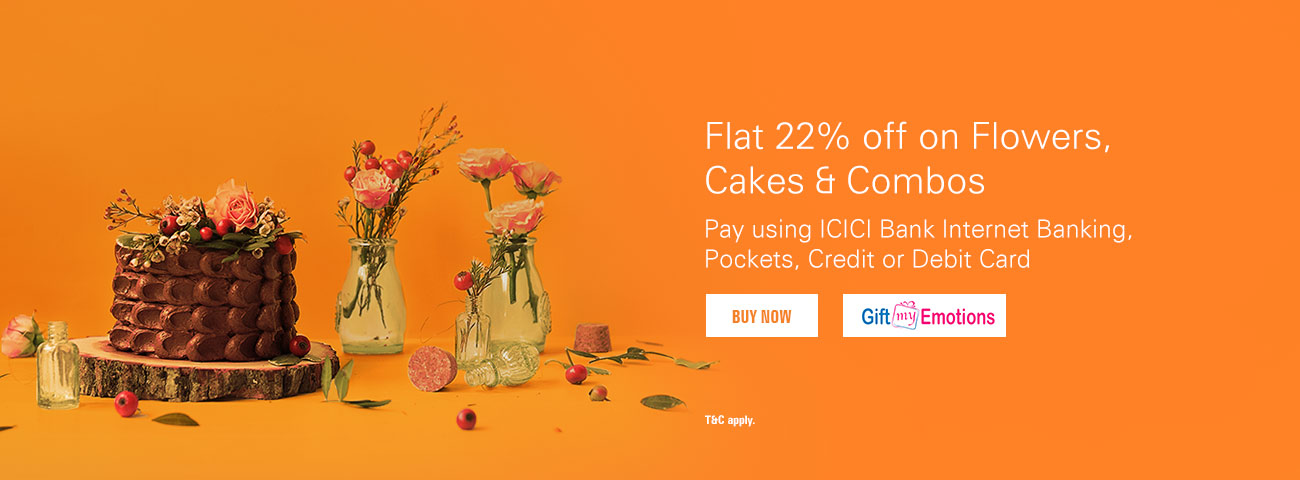 GiftMyEmotions - Get flat 22% off