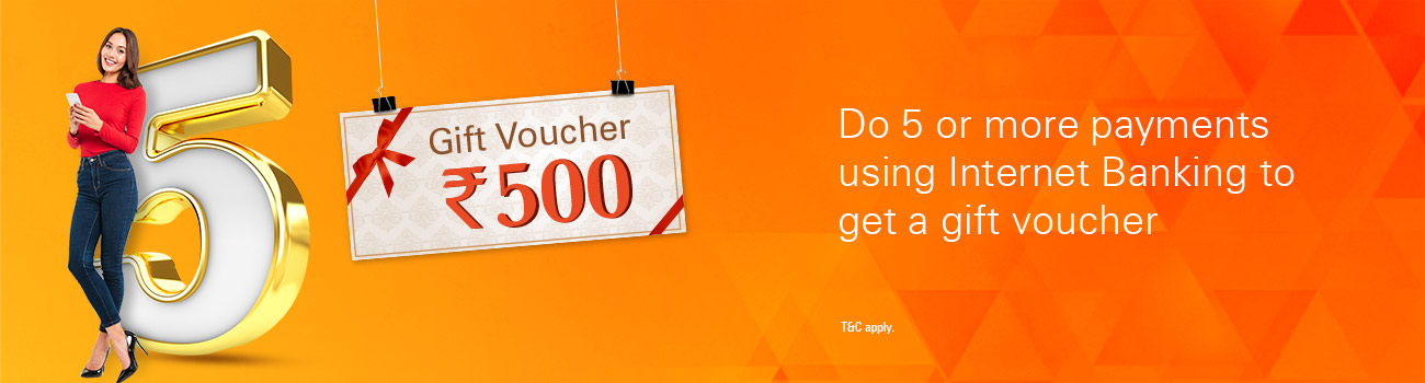 Gift Voucher Worth Rs 500 Offer
