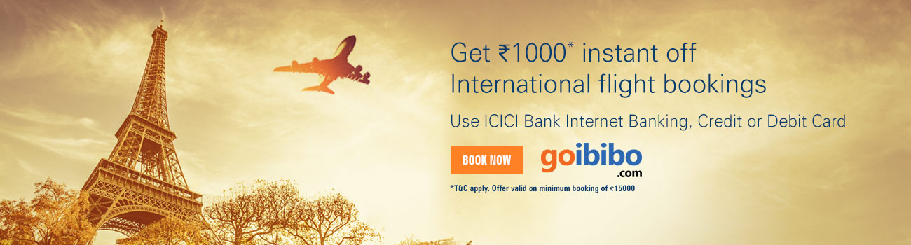 "Goibibo is famous for its ""Cheaper Together"" offer. In this offer, you need to book flight ticket and a hotel for a cheap fare. It provides many cashback offers on flight tickets."