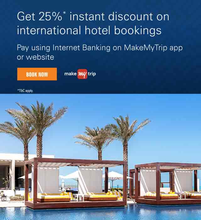 MakeMyTrip Offer