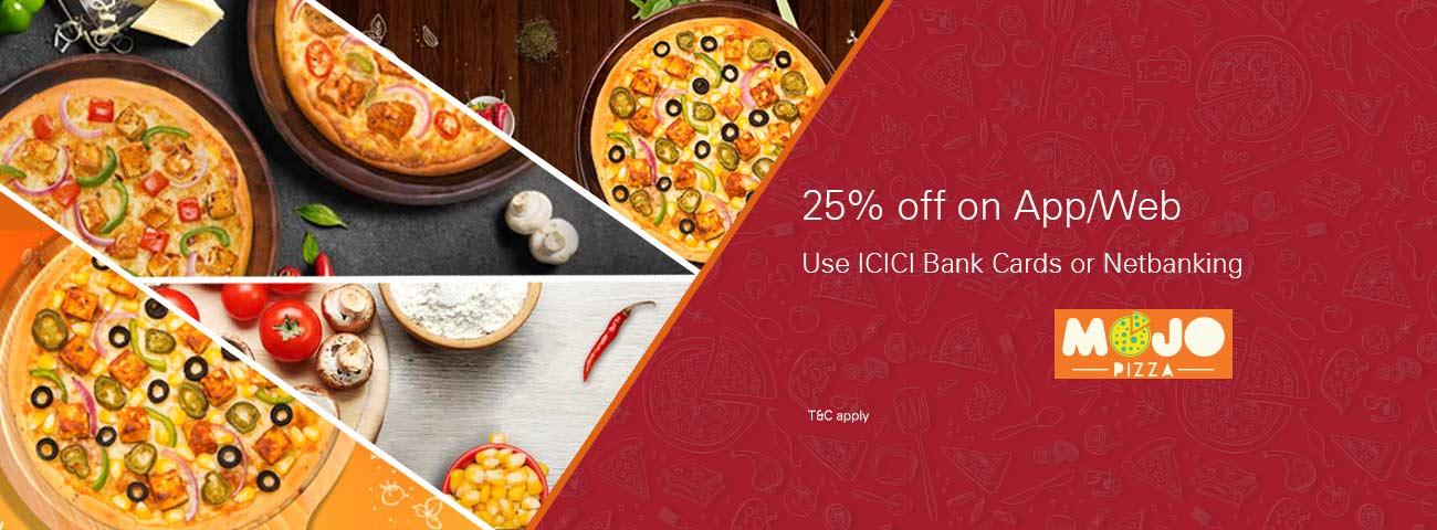 Mojo Pizza offer - Get discount upto ₹150