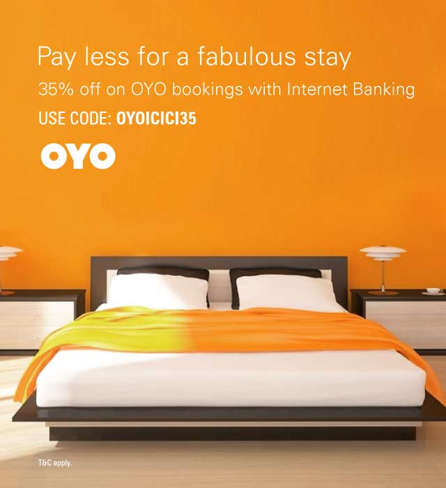 oyo hotel booking offer