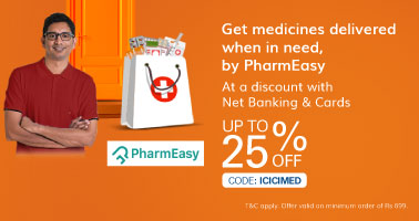 pharmeasy.in - Up to 15% Discount + Additional 10% cash back on Medicines