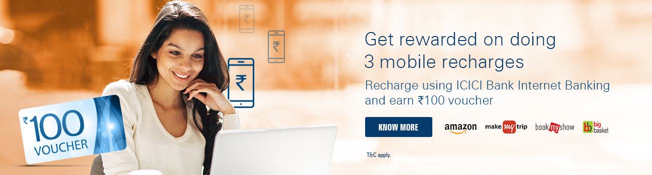Prepaid Mobile Recharge Offer