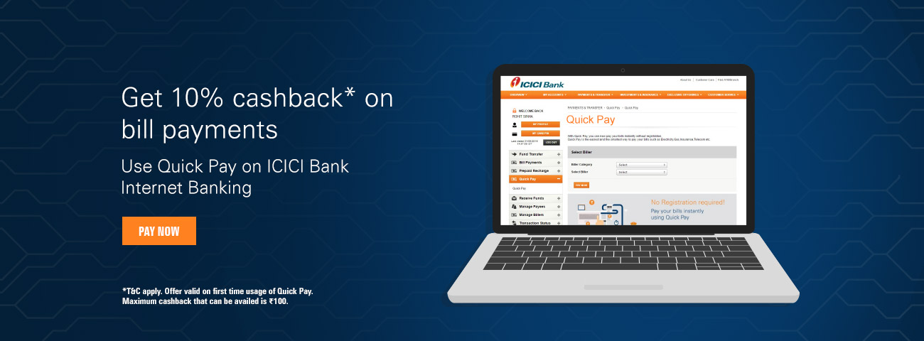 QuickPay offer