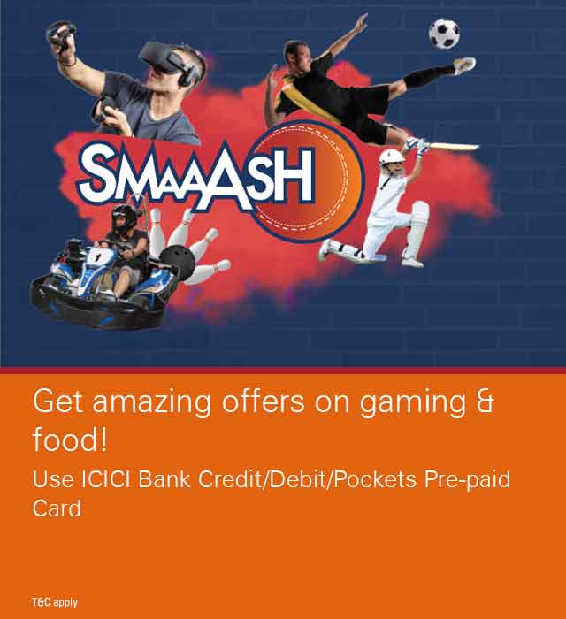 Smaaash - Gaming and Food Offer