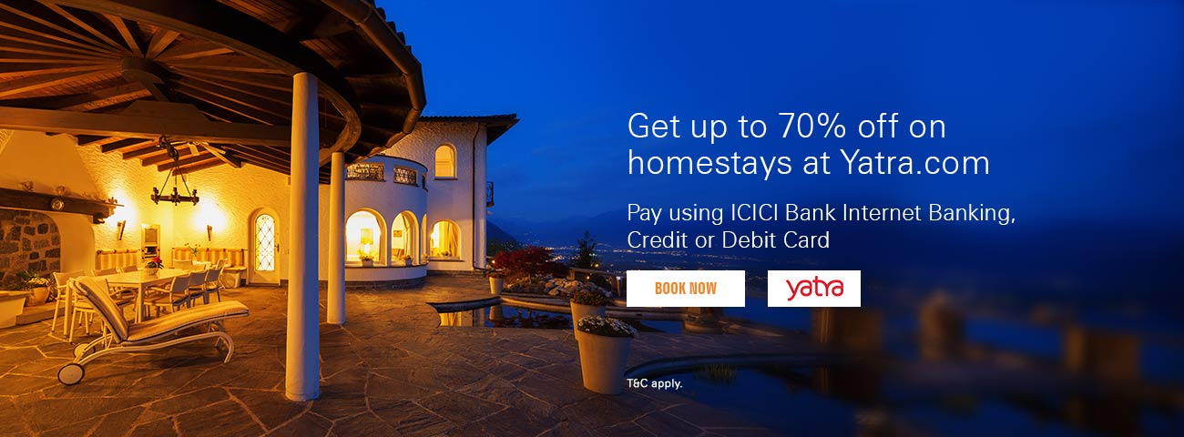 yatra-homestays-offer
