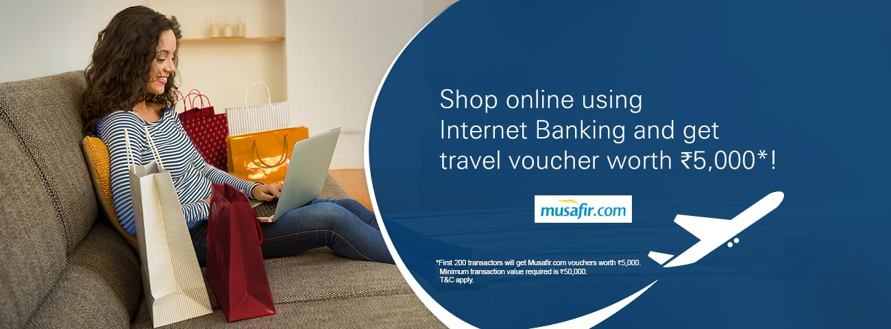 Shopping and Musafir offer