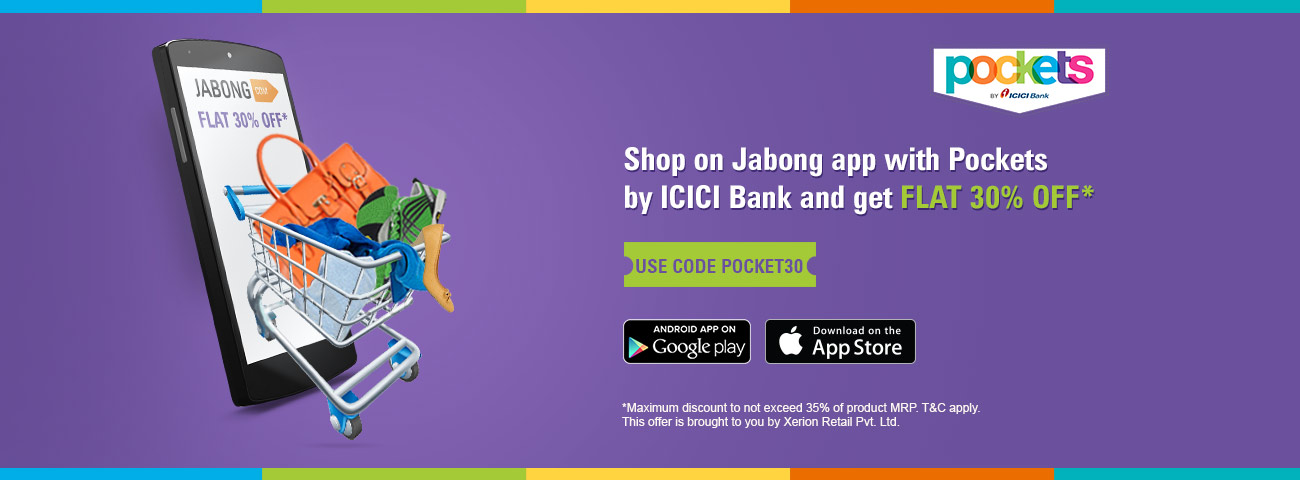 30% off on Jabong app