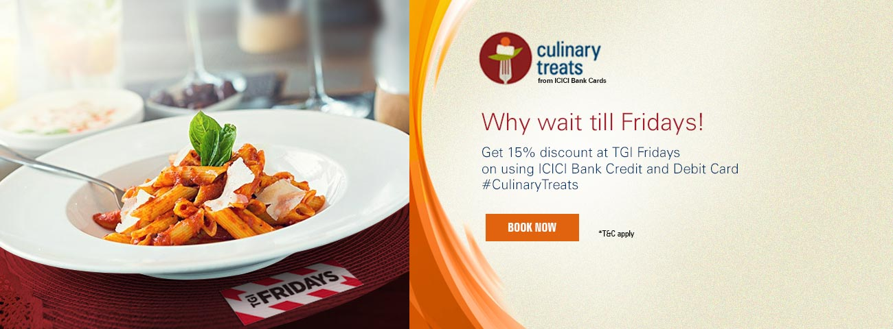 Culinary Treats TGIF Offer