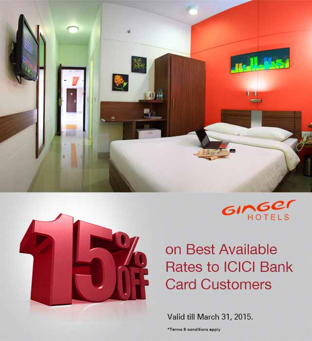 Ginger Hotel Offer