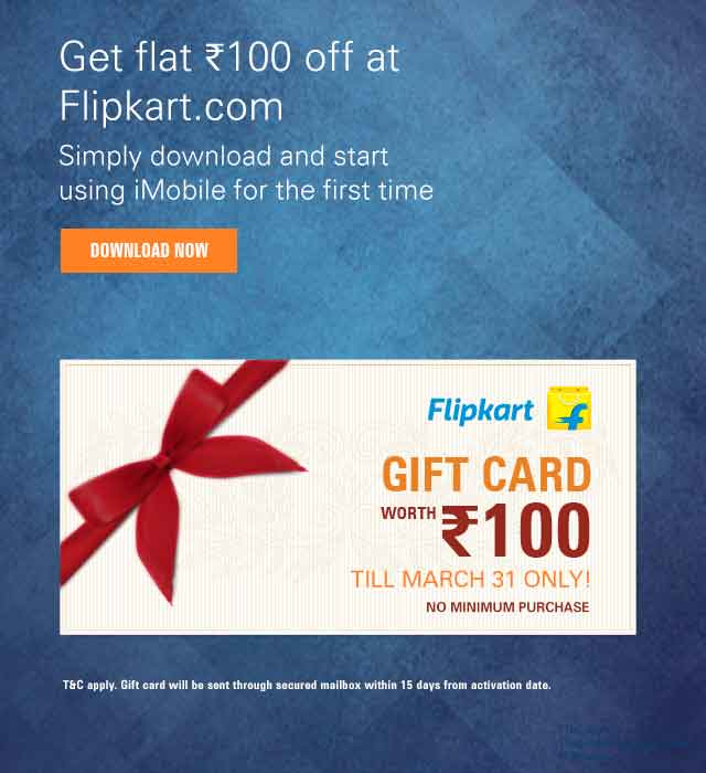 Flipkart iMobile Offer