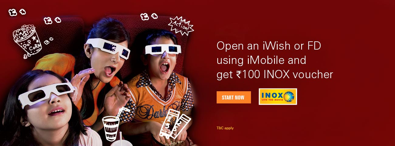 INOX Voucher - Get Rs 100 off