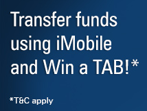 iMobile Fund Transfer Free Tab Offer