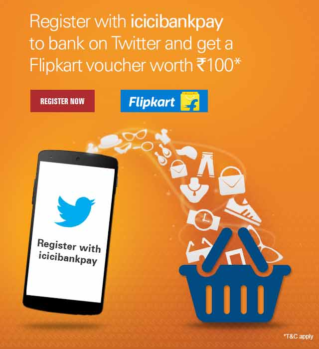 Twitter Flipkart Voucher Offer