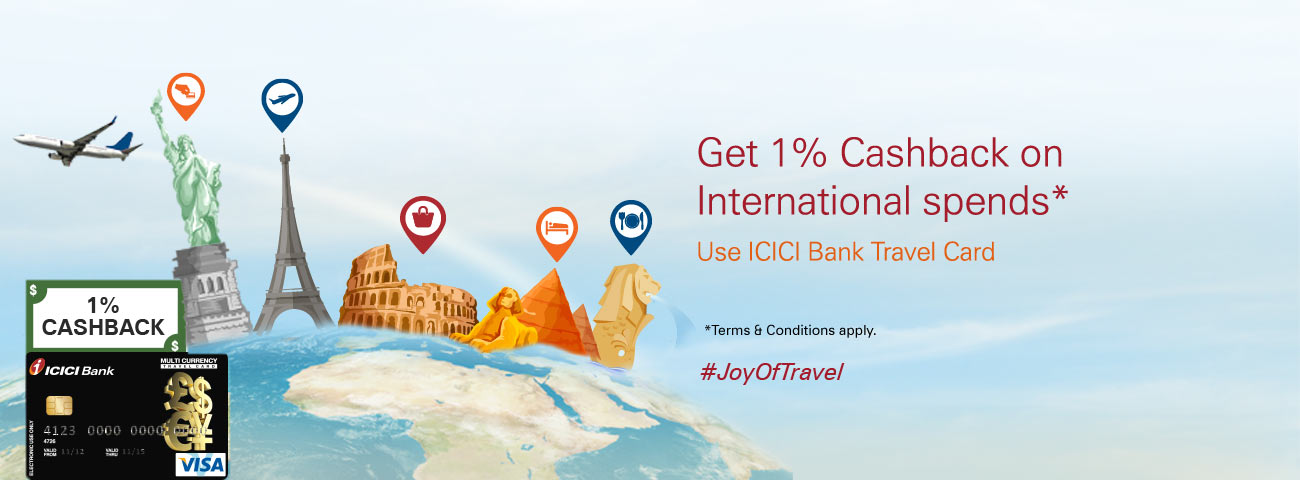 Cashback Offer on Travel Card