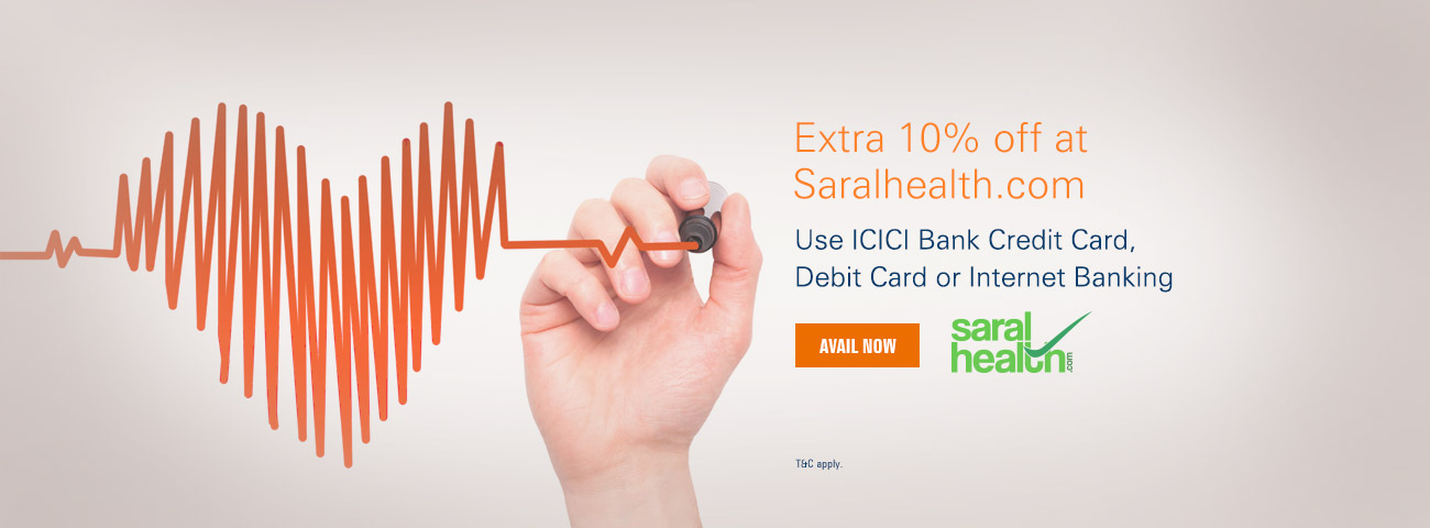 Saral Health Offer
