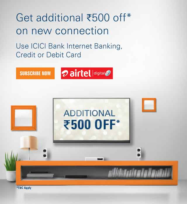 Airtel DTH Offer