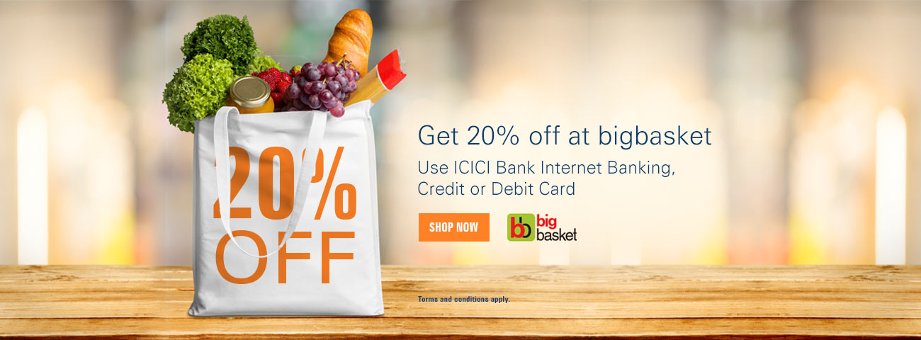 Bigbasket Offer