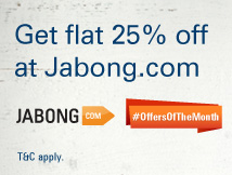 Jabong Additional 25% Off