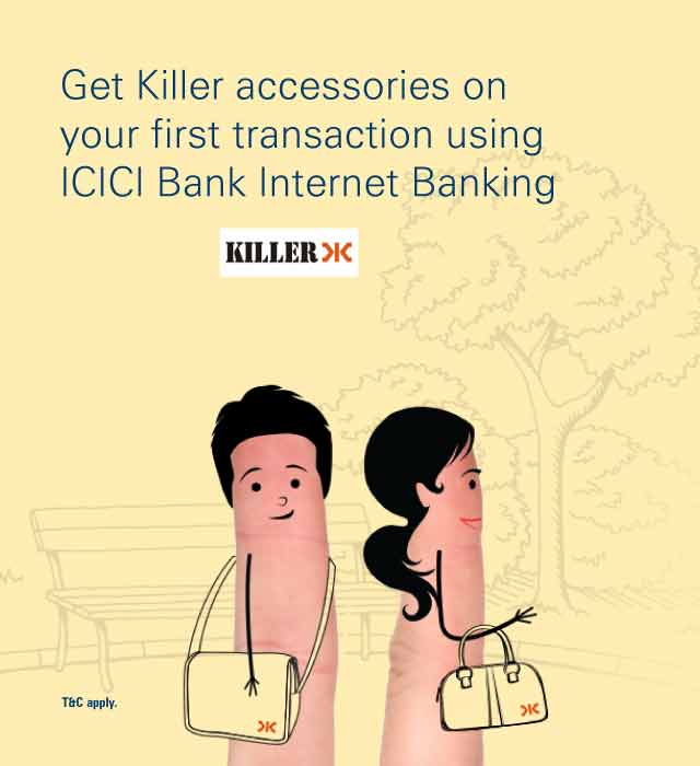 Killer Offer - Free Accessories on Internet Banking