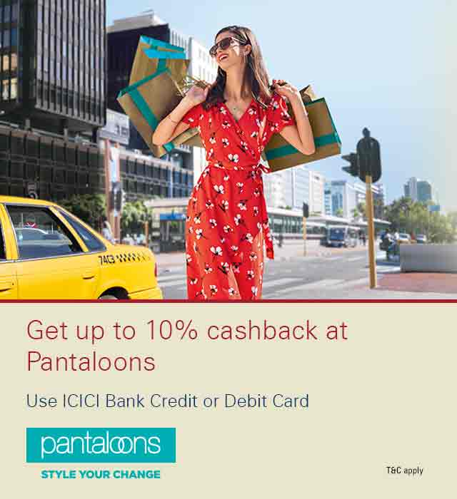 Pantaloons Offer